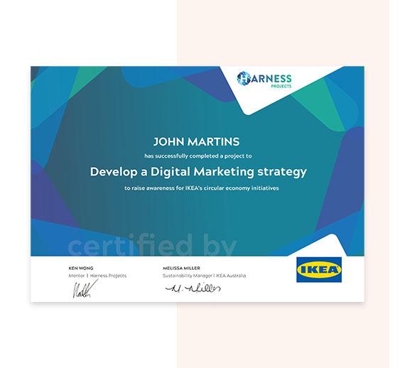 DM Certificate